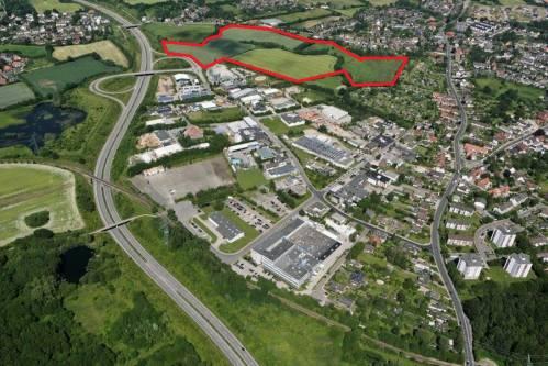 Attraktive Grundstücke am Wirtschaftsstandort Schönkirchen (Nahe Kiel)