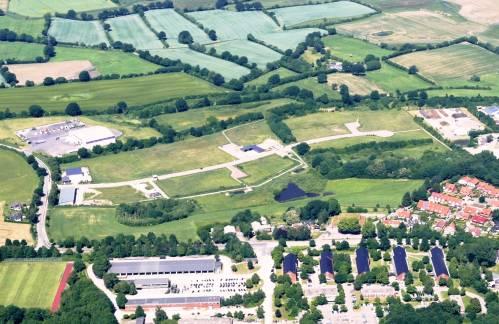 Gewerbegebiet Grasholz an der B76